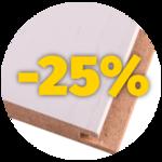 MDF seina- ja laepaneelid -25% soodsamalt