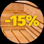 Sauna voodrilauad -15% soodsamalt
