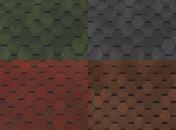 Bituumensindel Hexagonal - 3m2 pakis  värvivalik
