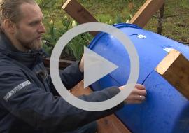 Tee ise kompostimahutile puidust ümbris